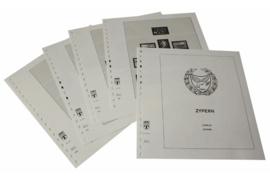Lindner Inhouden / T-Voordruk albumbladen met folie voorbladen met stroken (Inhoud) Cyprus 2004-2016 (42 bladen) (Lindner 295-04)