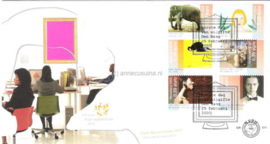 NVPH E511 Kunst op 2 enveloppen 2005