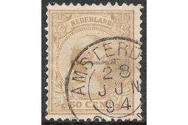 AMSTERDAM 28-6-1894 op NVPH 43 FOTOLEVERING