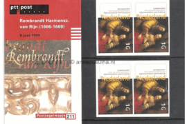 NVPH M211 (PZM211) Postfris Rembrandt van Rijn 1999