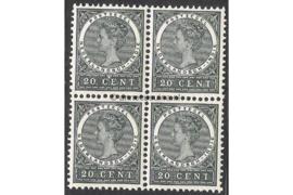NVPH 52 Postfris (20 cent) (Blokje van vier) Cijfer 1883-1890