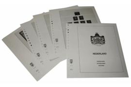 Lindner Inhouden / T-Voordruk albumbladen met folie voorbladen met stroken (Inhoud) Nederland 1967-1971 (16 bladen) (Lindner 191)