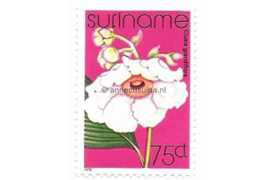 Zonnebloem 112 Postfris (75 cent) Orchideeën 1978