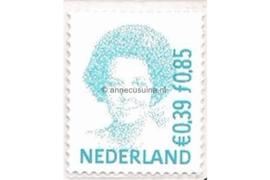 Nederland NVPH 1984 Postfris (Doorgestanst) (0,39/0,85) Koningin Beatrix in dubbele waarde 2001