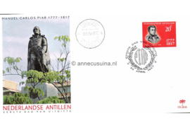 (Palmboom) NVPH E46 Manuel Carlos Piar 1967