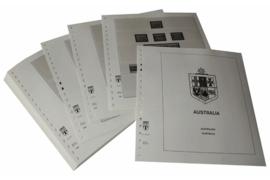 Lindner Inhouden / T-Voordruk albumbladen met folie voorbladen met stroken (Inhoud) Australië 1992-1997 (42 bladen) (Lindner 470-92)