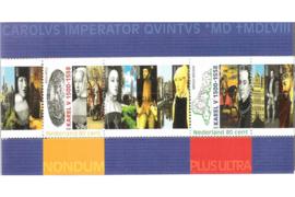 Nederland NVPH 1877 Postfris Blok 500e geboortedag Karel V 2000
