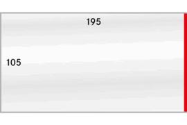 Lindner Beschermhoezen 105 x 195 mm (Rechts open) (Lindner 886P) Per Stuk