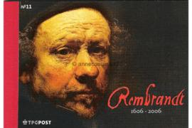NVPH PR11 Postfris Prestigeboekje Rembrandt 2006