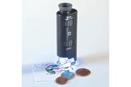 Leuchtturm (Lighthouse) Zoom Microscoop met LED (60x-100x) (Leuchtturm 313 090)