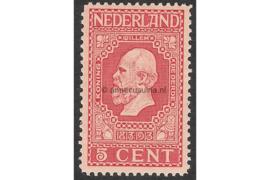 NVPH 92 Postfris (5 cent) Jubileumzegels 100 jaar onafhankelijkheid 1913