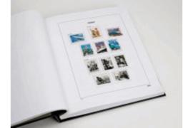DAVO Luxe supplement Frankrijk Zegels uit blokken 2012