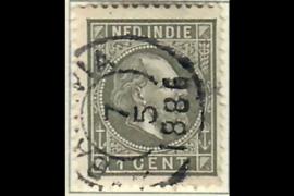 BATAVIA 7-5-1886 op NVPH 4 (SvL 5)