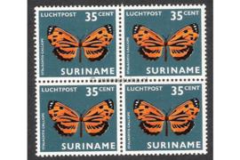 NVPH LP51 Postfris (35 ct) (Blokje van vier) Vlinders 1972