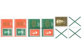 Nederlandse Antillen INHOUD van NVPH PB 5 Postfris Postzegel-/Automatenboekje Troonswisseling 2 x no. 654a + 2 x 655a + 1 x no. 609 1980