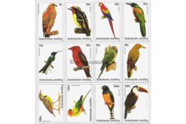 Nederlandse Antillen NVPH V1412-1423 Postfris (Half velletje Zonder velrand) Vogels 2002