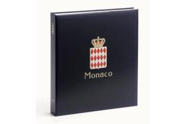 DAVO Luxe postzegelalbum Monaco I 1885-1969 INCL. LUXE CASSETTE