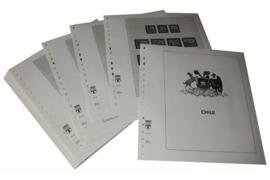 Lindner Inhouden / T-Voordruk albumbladen met folie voorbladen met stroken (Inhoud) Chili 1960-1985 (43 bladen) (Lindner 505)
