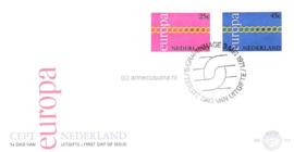 Nederland NVPH E112 Onbeschreven 1e Dag-enveloppe Europa 1971