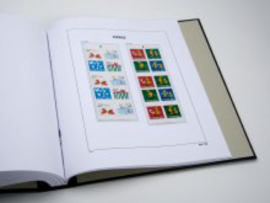 DAVO Luxe supplement Zweden AU Postzegelboekjes 2009