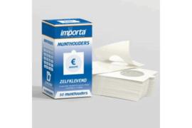Importa Munthouders Zelfklevend Euro-assortiment (50 stuks) (Importa MHZ-eur-q50)