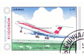 Mongolië Michel 1630 Gestempeld Vliegtuigen 1984