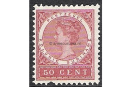Suriname NVPH 55 Postfris FOTOLEVERING (50 cent) Koningin Wilhelmina 1904-1908