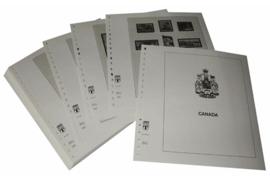 Lindner Inhouden / T-Voordruk albumbladen met folie voorbladen met stroken (Inhoud) Canada 2003-2008 (52 bladen) (Lindner 500-03)
