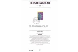 Nederland Importa EDB108 (NVPH 1529) Eerstedagblad 100 jaar Nederlands genootschap voor Munt- en Penningkunde 1992