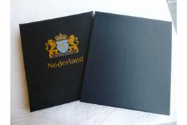 (Z.G.A.N.!) Gebruikt DAVO Luxe Postzegelalbum Nederland IV 1990-1999 MET LUXE CASSETTE! Originele druk!