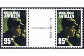 Nederlandse Antillen NVPH 1398a Postfris FOTOLEVERING Brugpaar (95 cent) Amphilex 2002 2002