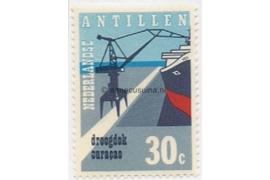 Nederlandse Antillen NVPH 451 Postfris Ingebruikname droogdok Curacao 1972