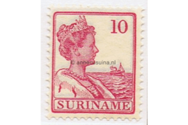 Suriname NVPH 87 Postfris (10 cent) Koningin Wilhelmina 1915-1926