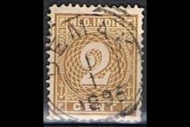 DEMAK 1-1-1895 op NVPH 18 (SvL 2)
