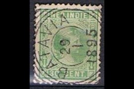 BATAVIA 29-1-1895 op NVPH 28 (SvL 1)