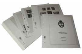 Lindner Inhouden / T-Voordruk albumbladen met folie voorbladen met stroken (Inhoud) Argentinië 1999-2003 (43 bladen) (Lindner 461-99)