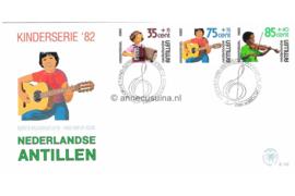 NVPH E152 Kinderzegels, muziek 1982