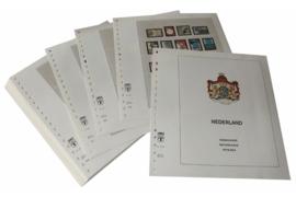 Lindner Inhouden / T-Voordruk albumbladen met folie voorbladen met stroken (Inhoud) Nederland 1999-2004 in kleur (46 bladen) (Lindner 191-99)