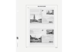 DAVO Luxe bladen België Briefkaarten Speciaal 1971-2014