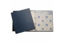 Hartberger Blauw S1 Voordrukalbum 5 en 10 Euro Herdenkingsmunten Nederland 2002-2017