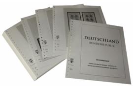 Lindner Inhouden / T-Voordruk albumbladen met folie voorbladen met stroken (Inhoud) Vellen van 10; 2003 (46 bladen) (Lindner 120BK-03)