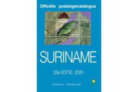 ZO GOED ALS NIEUW!/Gebruikt Postzegelcatalogus Zonnebloem Republiek Suriname 2020