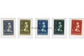 Koopjeshoek! NVPH 374-378 Ongebruikt ZONDER GOM Kinderzegels 1940