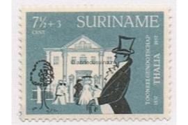 NVPH 326 Postfris (7 1/2 + 3 cent) 120 jaar toneelgezelschap Thalia