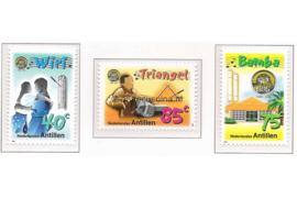 Nederlandse Antillen NVPH 1255-1257 Postfris 50 jaar G.O.G. 1999