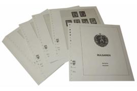 Lindner Inhouden / T-Voordruk albumbladen met folie voorbladen met stroken (Inhoud) Bulgarije 1987-1990 (45 bladen) (Lindner 136-87)