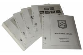 Lindner Inhouden / T-Voordruk albumbladen met folie voorbladen met stroken (Inhoud) Nederlandse Antillen 1972-1985 (42 bladen) (Lindner 430a)