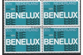 Nederland NVPH 1055 Postfris (30 cent) (Blokje van vier) Gelegenheidszegels 1974