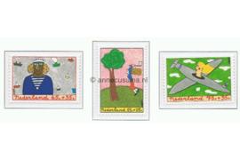 NVPH 1387-1389 Postfris Kinderzegels, kind en beroep 1987