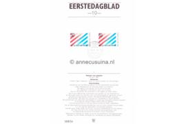 Nederland Importa EDB10 (NVPH 1266-1267) Eerstedagblad 200 jaar betrekkingen Nederland-USA 1982